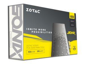 Zotac Sonix Verpackung