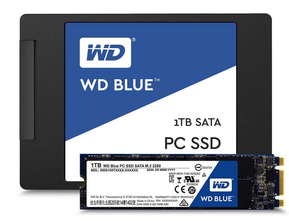 WD Blue SSD (Bild: WD)