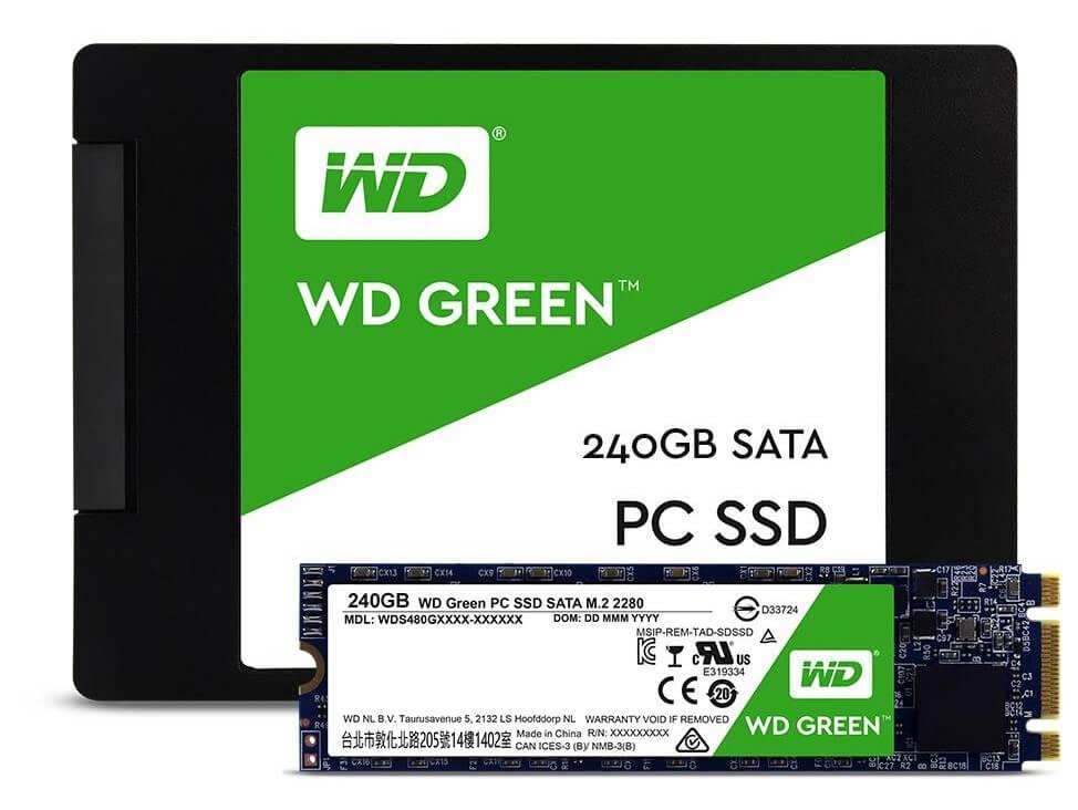 WD Green SSD (Bild: WD)