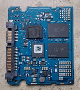 Crucial MX300 - Platine